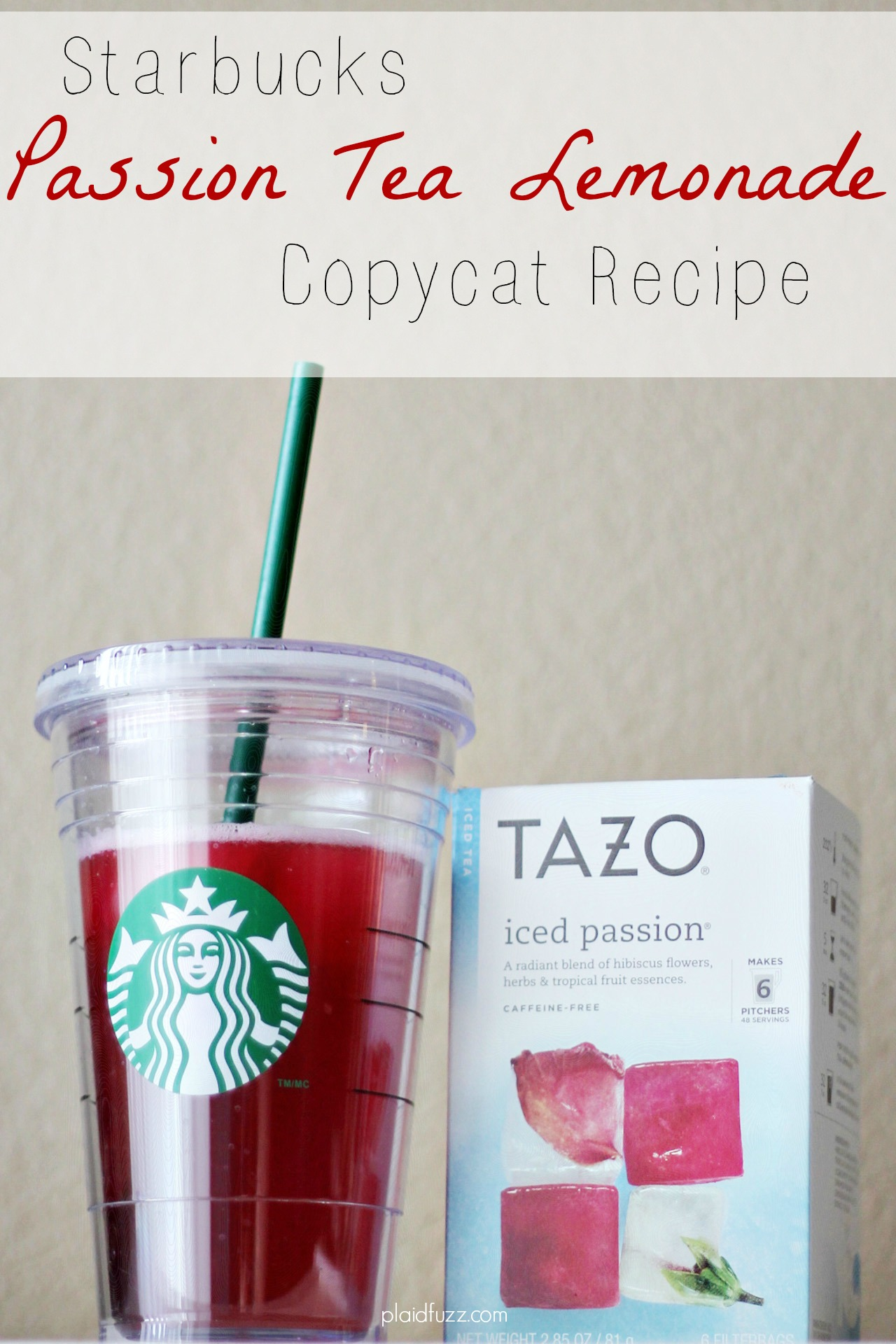 Starbucks Passion Tea Lemonade Copycat