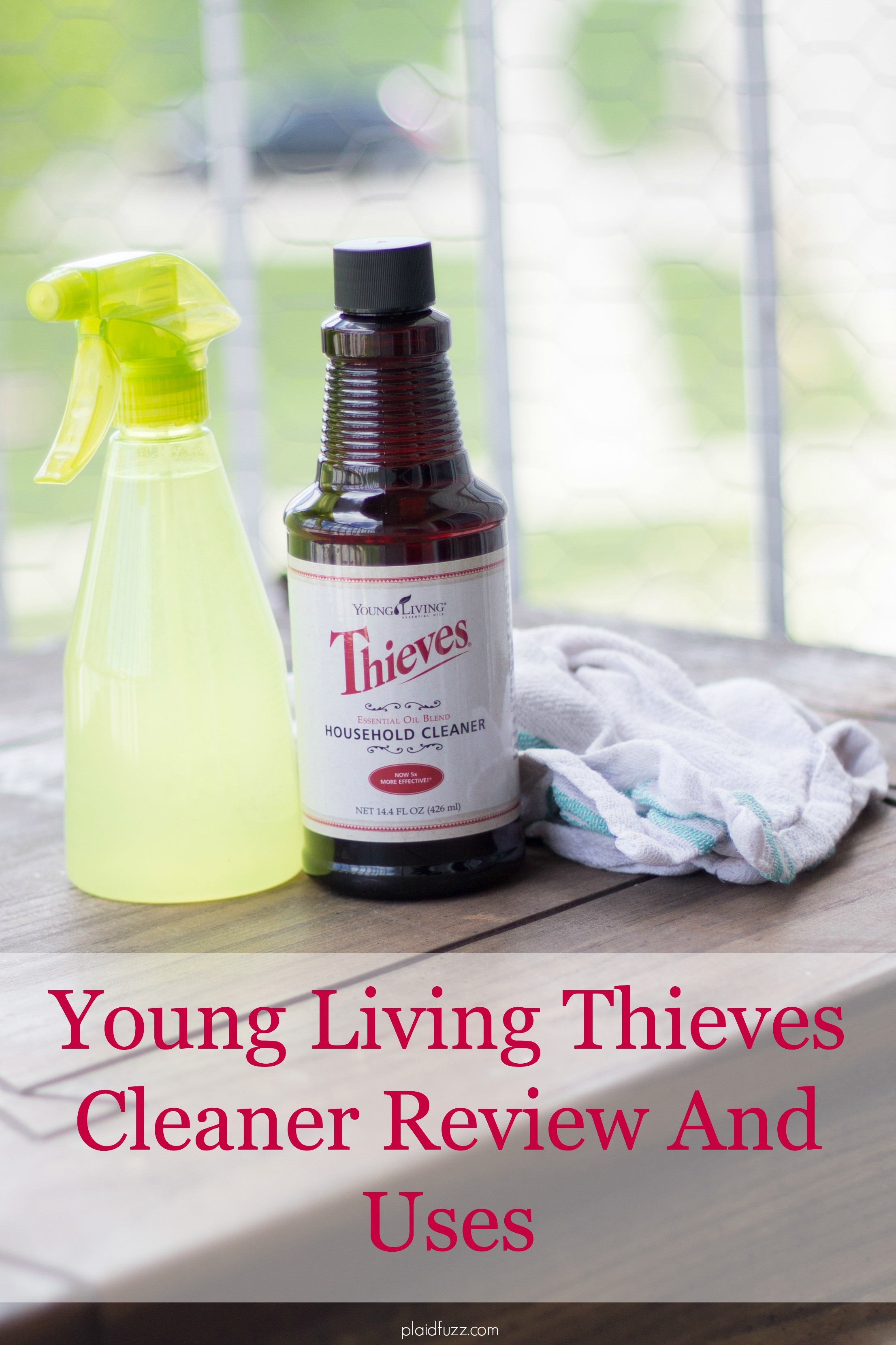 Young Living Thieves Cleaner Review and Uses
