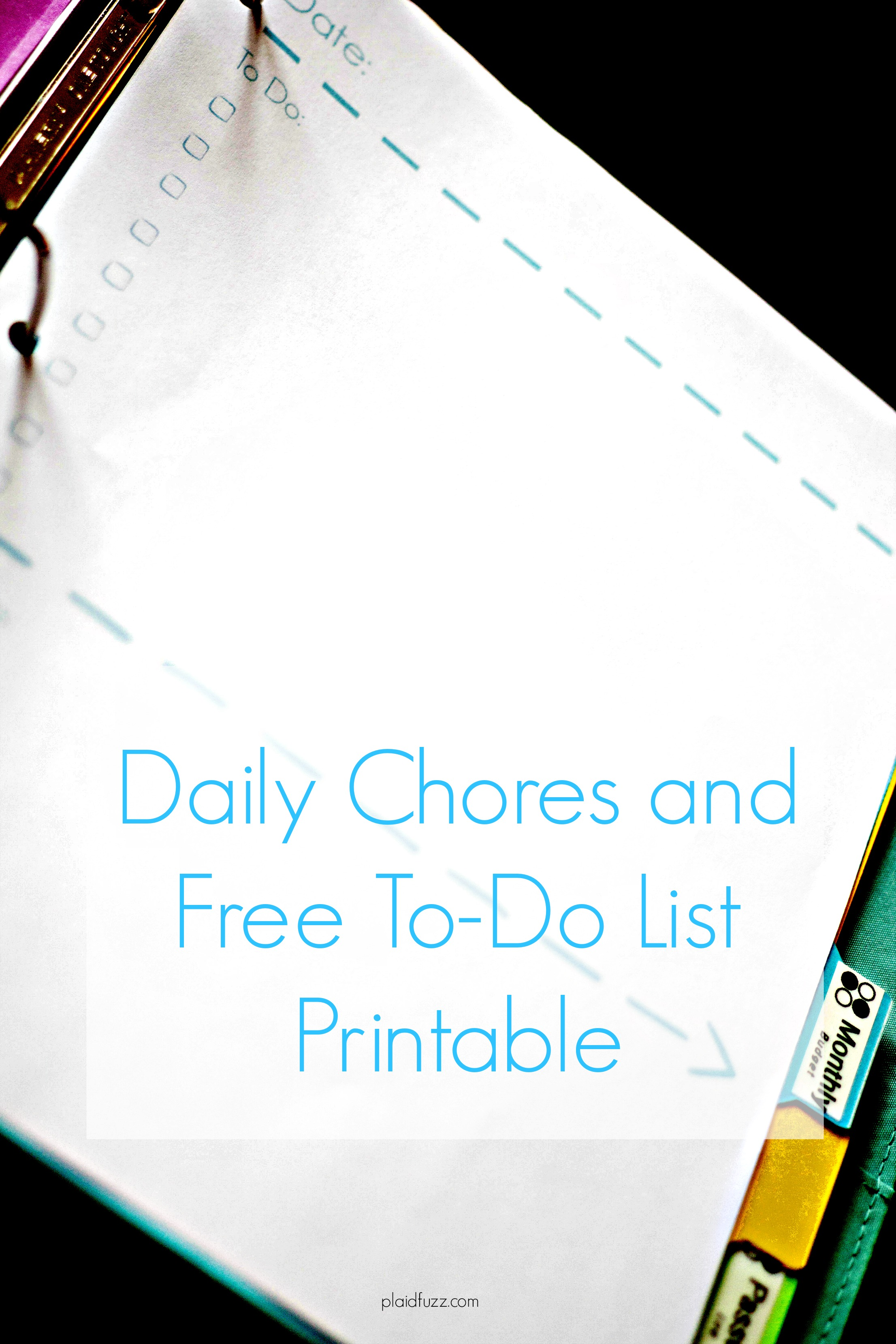 30 Day Cleaning Challenge: The Daily Plan