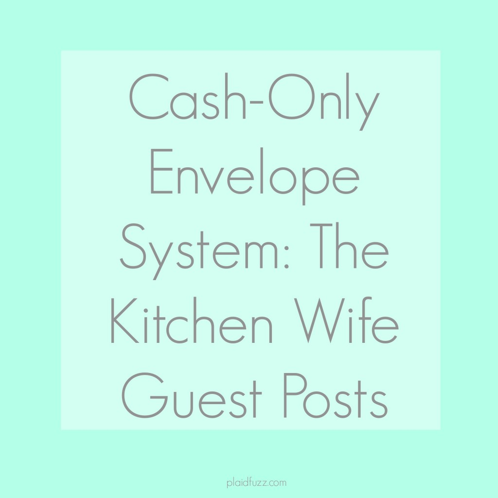 Cash only envelope system
