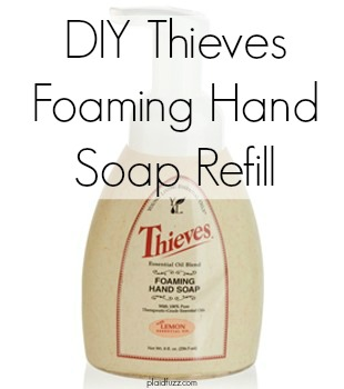 DIY Thieves Foaming Hand Soap Refill