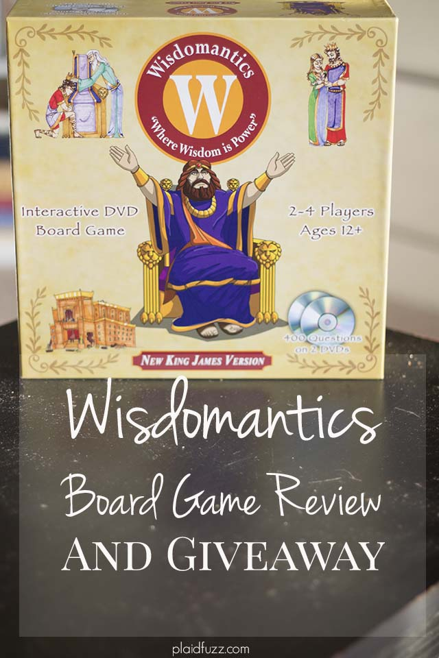 Wisdomantics Board Game Review and Giveaway