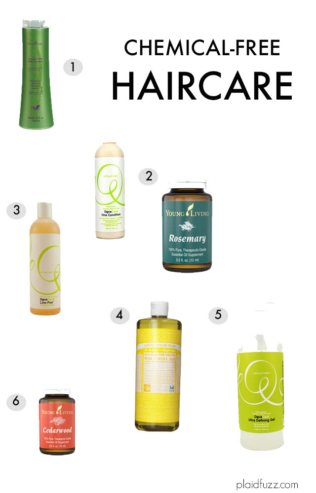 Chemical-Free Haircare