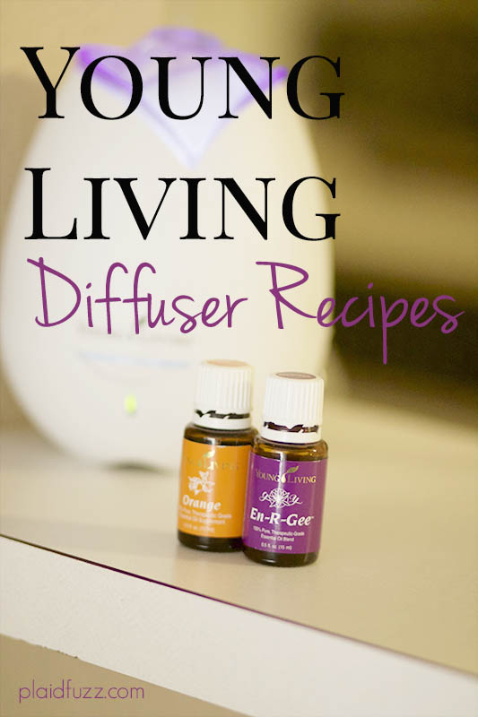 Young Living Oil Diffuser Favorite Recipes