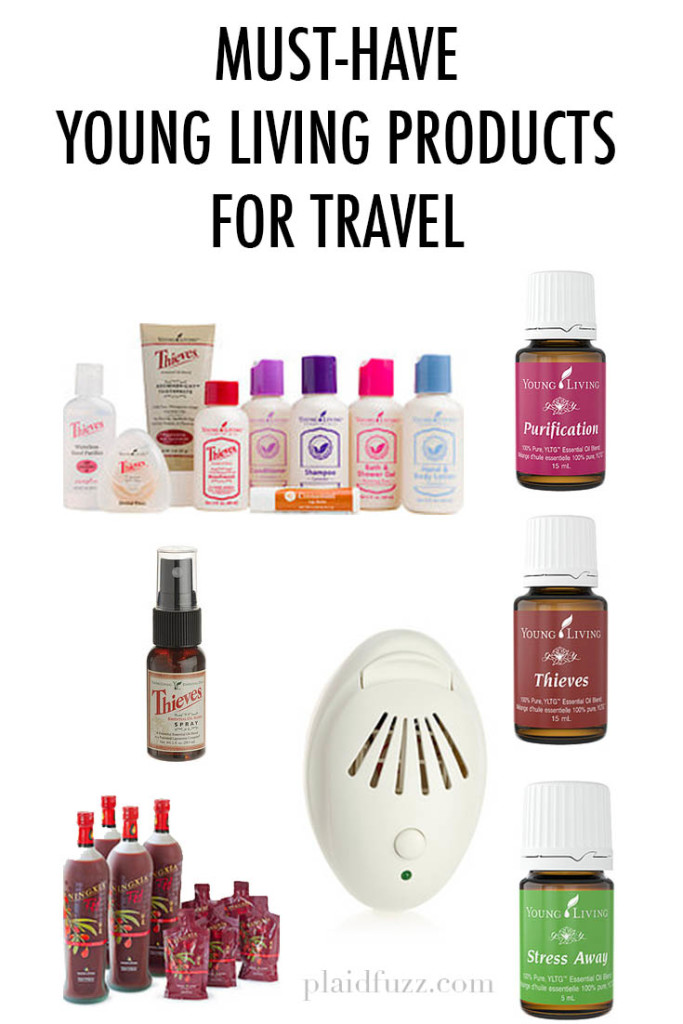 Must-Have Young Living Products for Travel