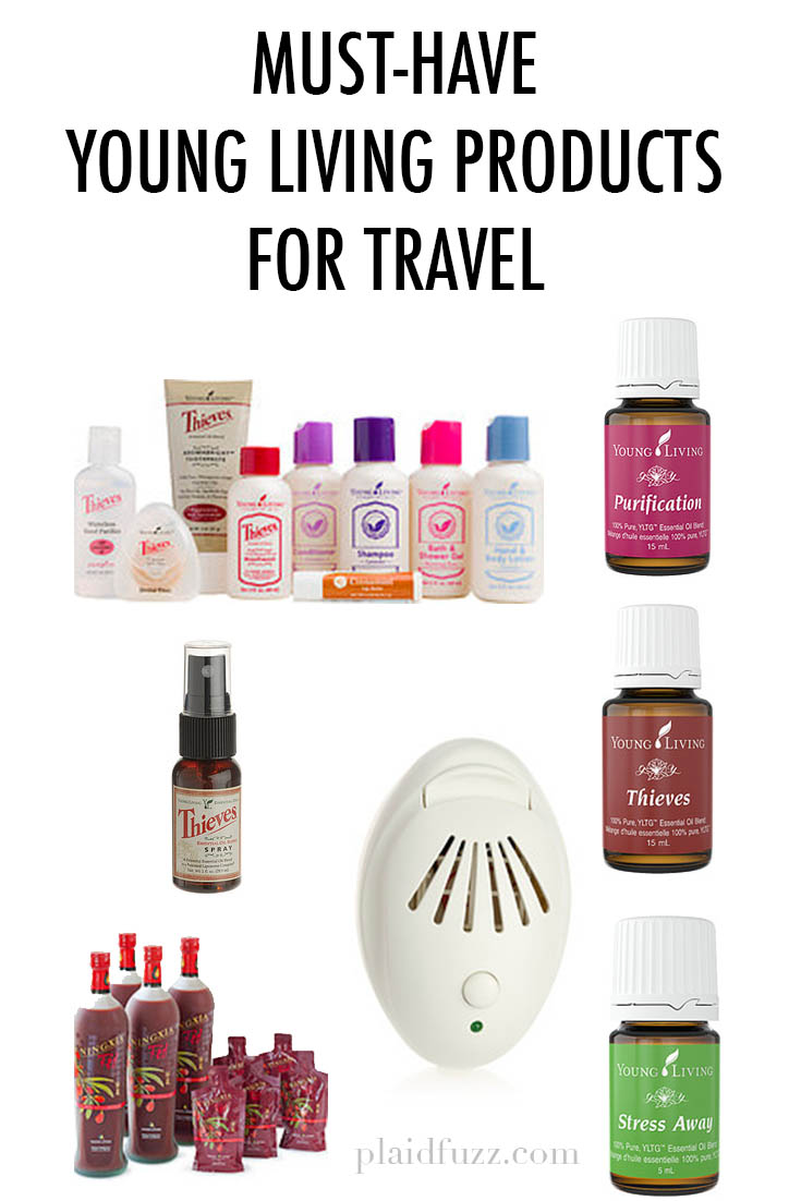 Must Have Makeup Brushes: Must-Have Young Living Products For Travel