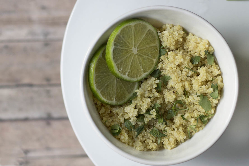 One Pot Cilantro Lime Quinoa