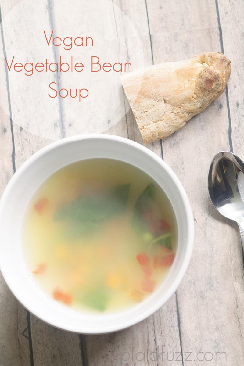 Easy Vegan Bean and Vegetable Soup