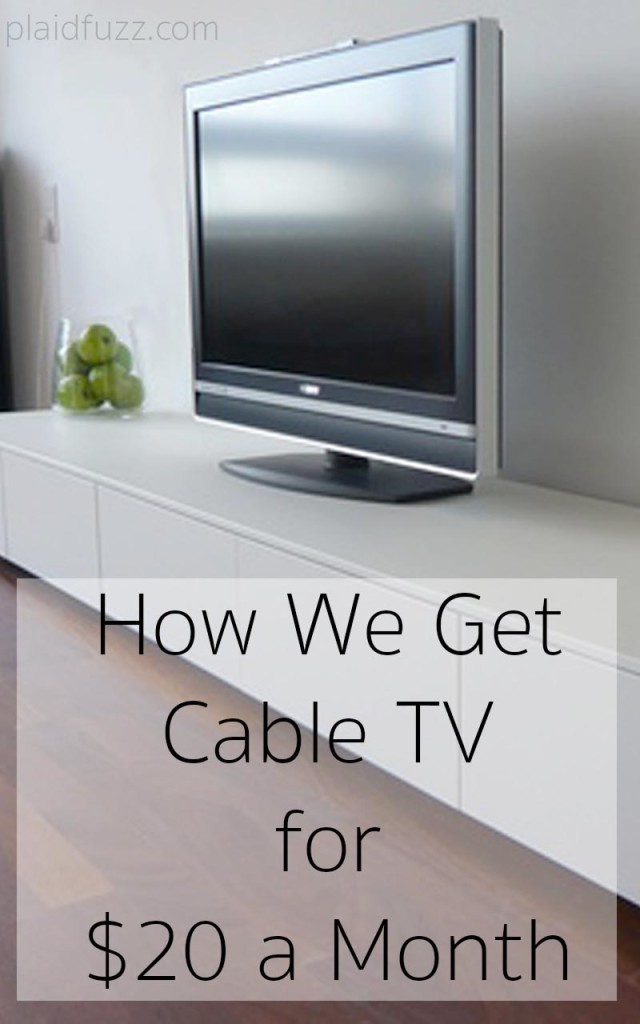 cable tv for $20