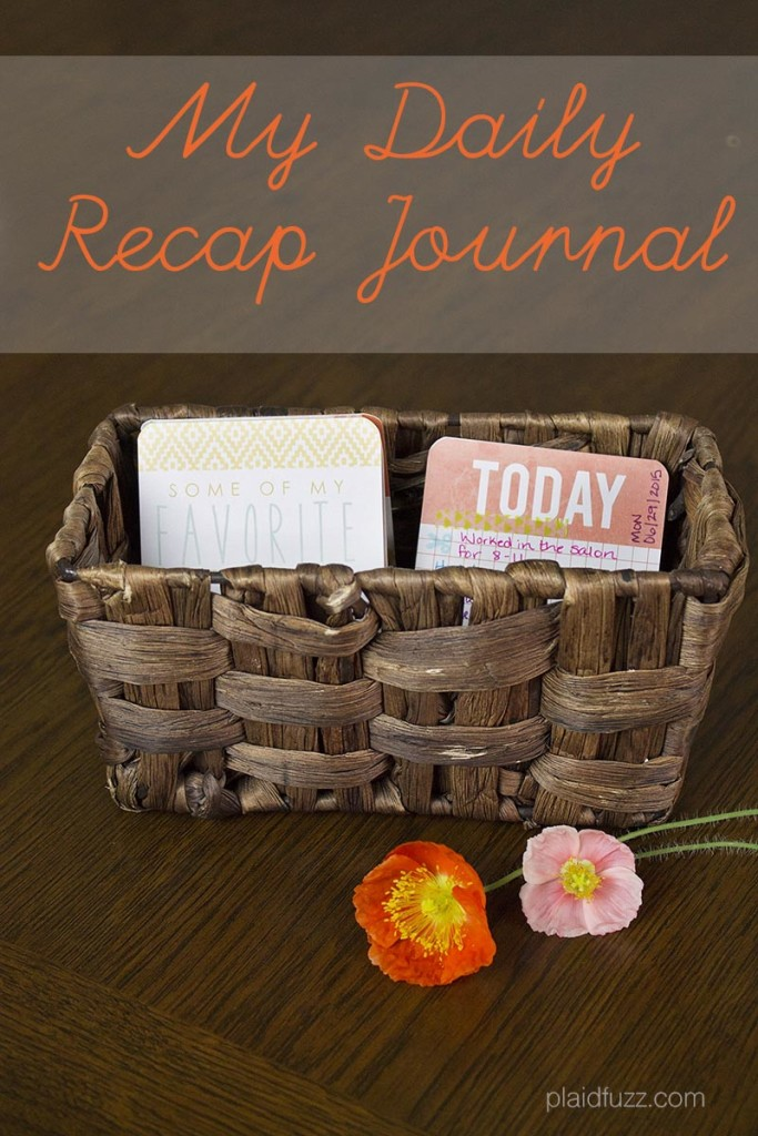 daily recap journal