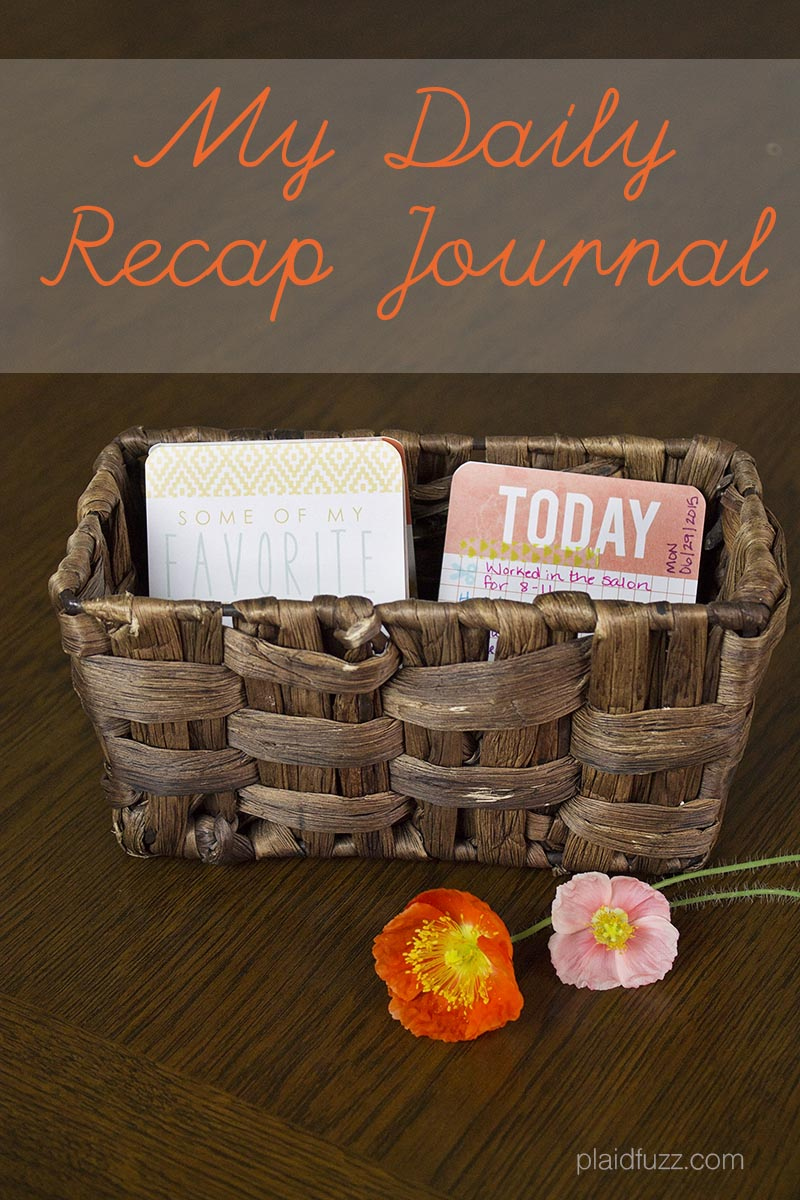 My Daily Recap Journal