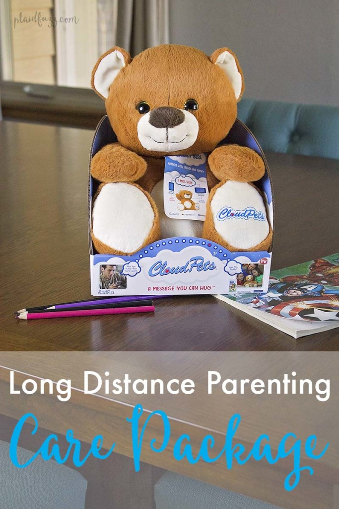 long distance parenting care package