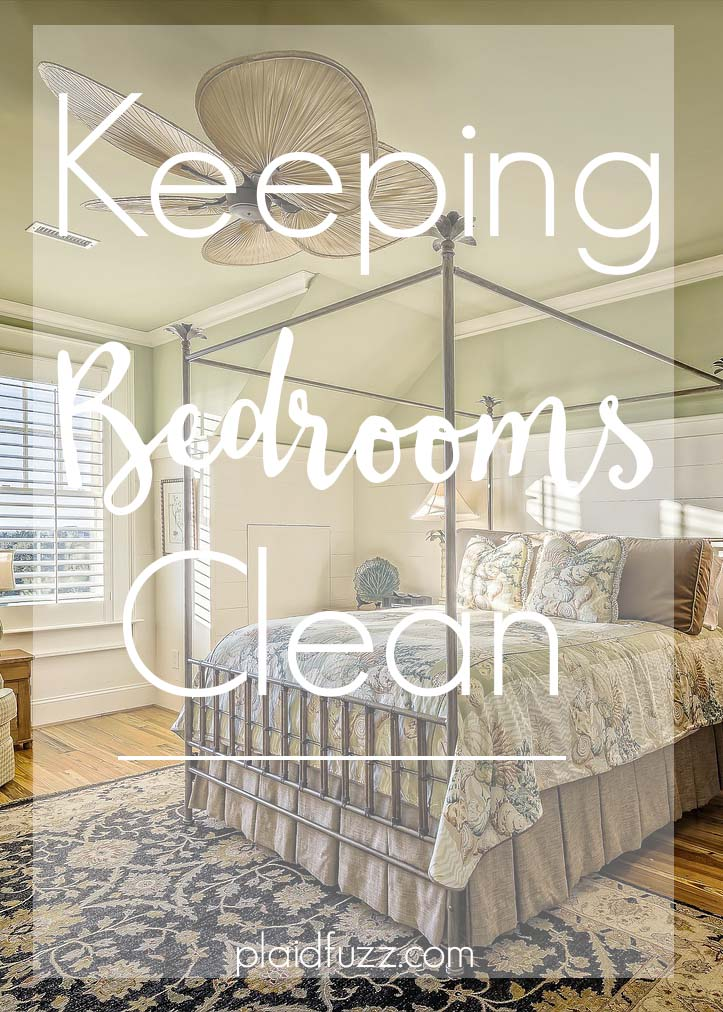 Keeping Bedrooms Clean