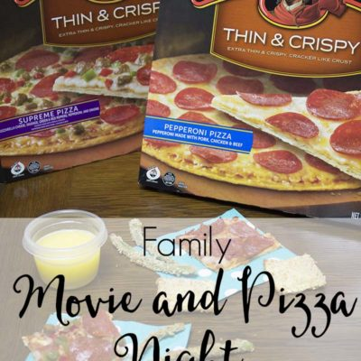Family Movie and Pizza Night