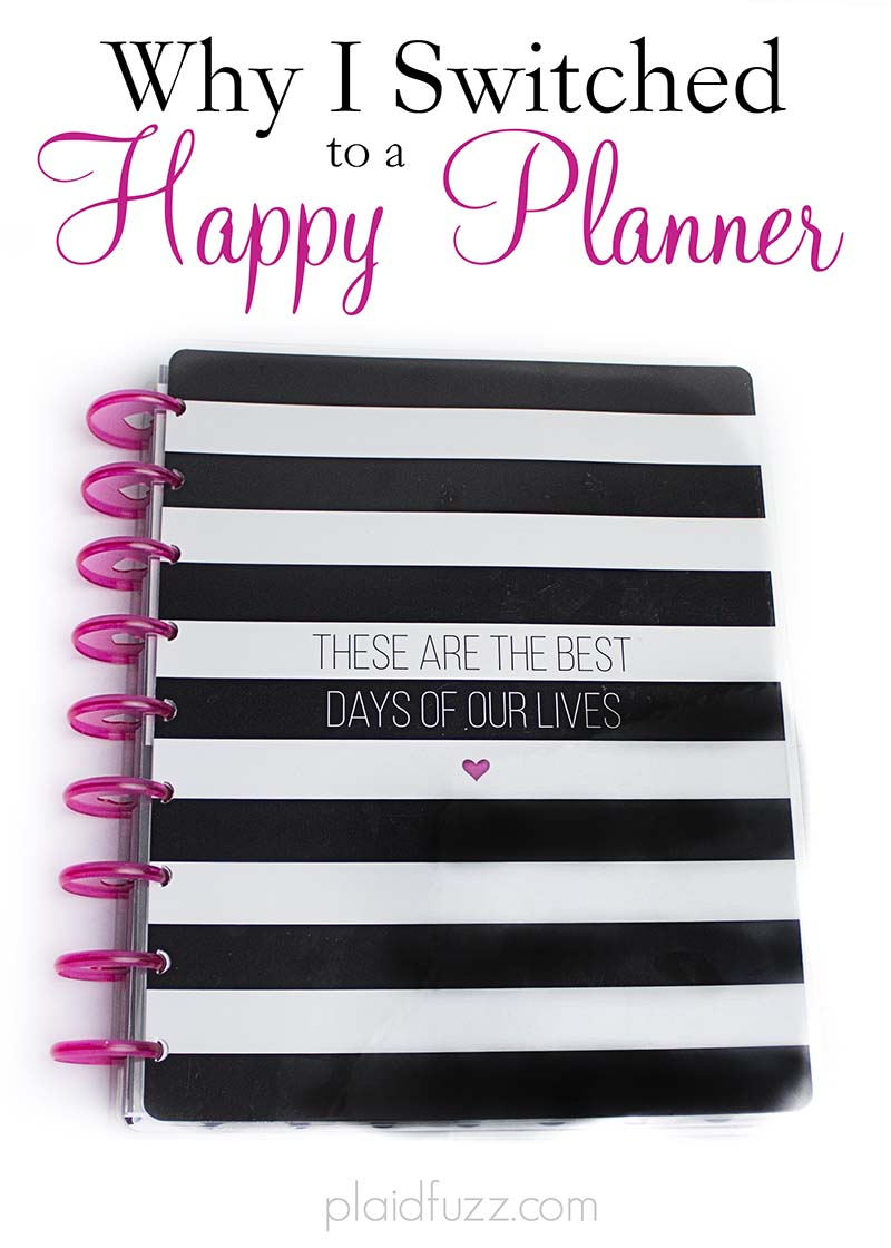 Why I Switched To A Happy Planner