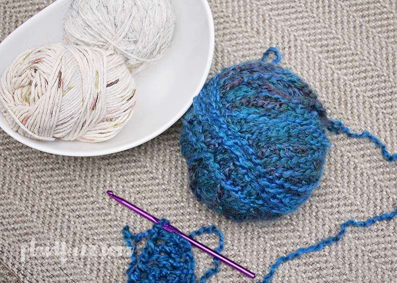 destress with crocheting
