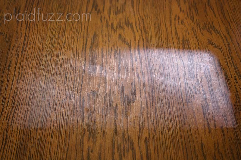 How To Remove A Heat Mark From Wood