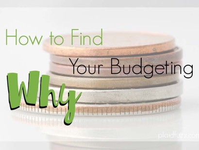Your Budgeting Why