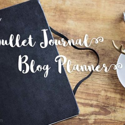 Bullet Journal Blog Planner