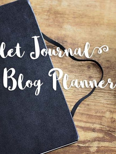 My Bullet Journal Blog Planner