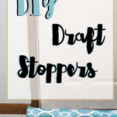 DIY Draft Stopper