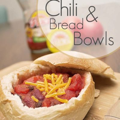 Easy Chili And Bread Bowls Recipe