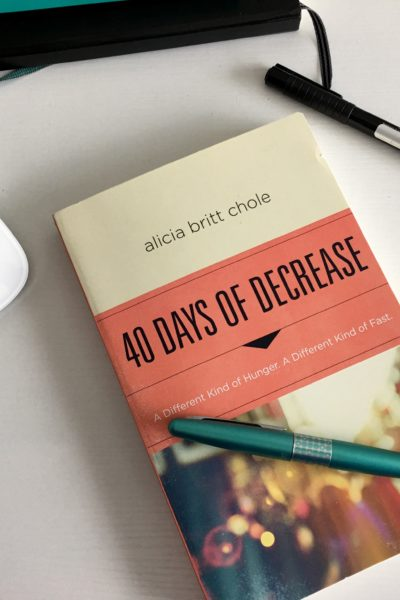40 Days of Decrease Devotional