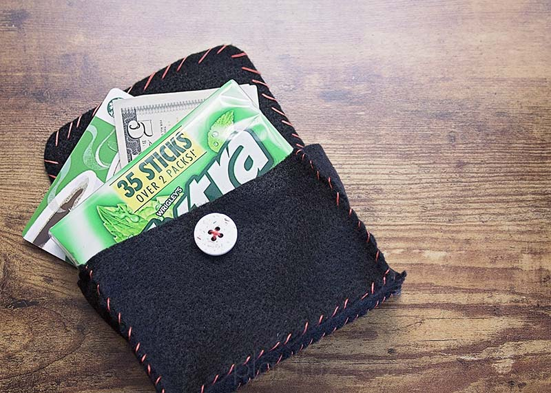 Felt Pouch for Gum