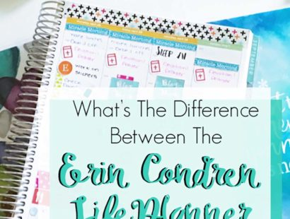 What's The Difference Between The Erin Condren Lifeplanner Formats?