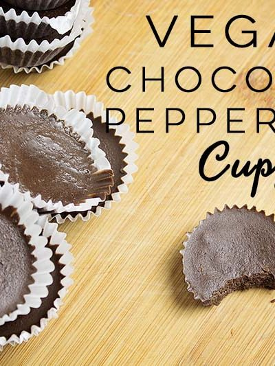 Vegan Chocolate Peppermint Cups