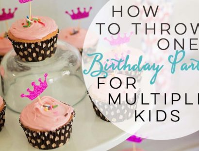 How To Throw One Birthday Party For Multiple Kids