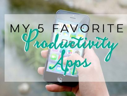 5 Favorite Productivity Apps