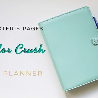 Webster's Pages Color Crush A5 Planner