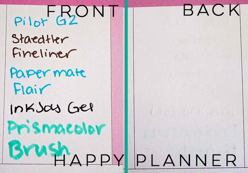 Erin Condren vs Happy Planner