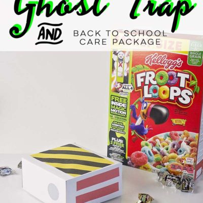 DIY Ghost Trap Back To School Care Package