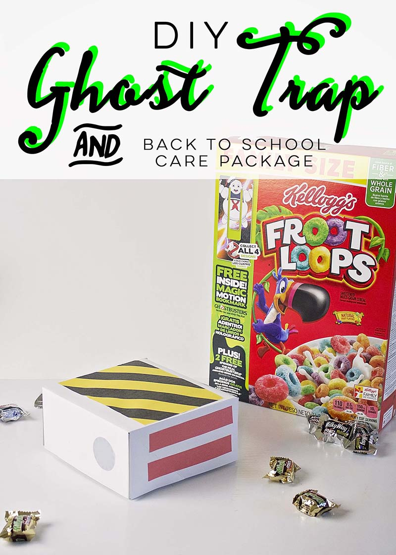 DIY Ghost Trap and Back To School Care Package
