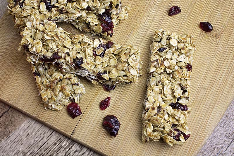 Cranberry Seed Granola Bars