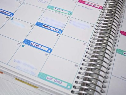 How I Use My Erin Condren Planner To  Budget