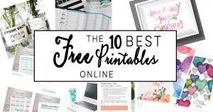 The 10 Best Free Printables Online