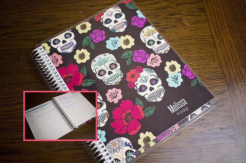 planners and notebooks