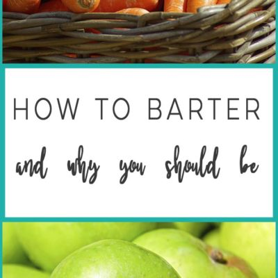 How to Barter and Why You Should Be