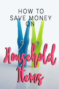 How To Save Money On Household Items