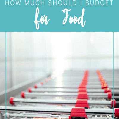 How Much Should I Budget For Food
