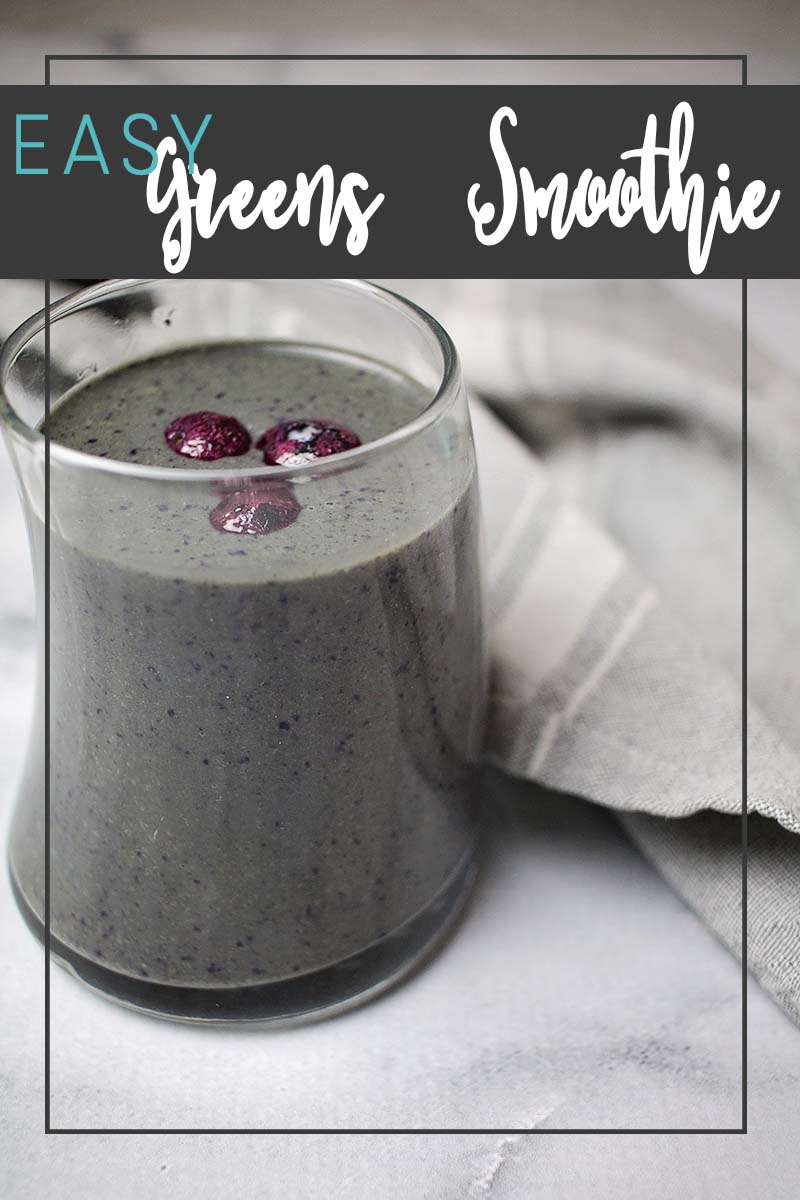 easy greens smoothie