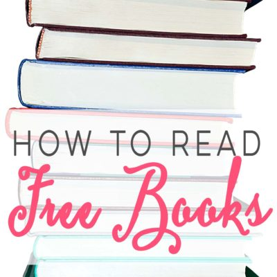How To Read Free Books