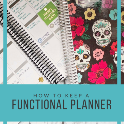 How To Keep A Functional Planner