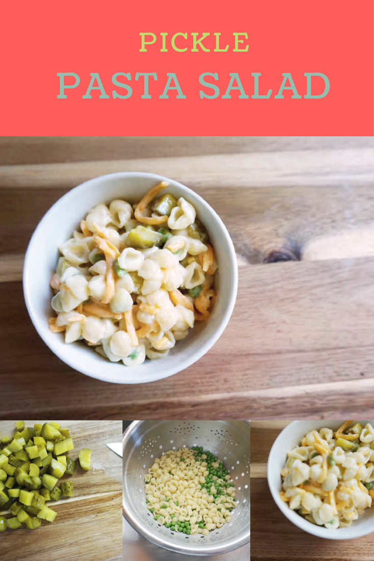 Pickle Pasta Salad