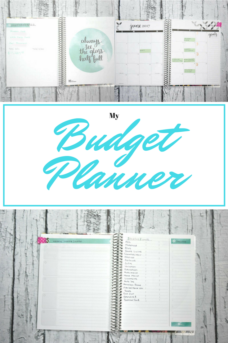 my budget planner the house of plaidfuzz
