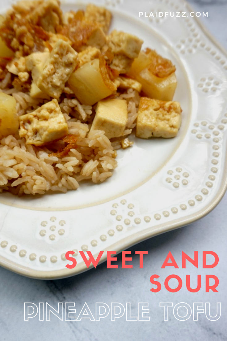Sweet and Sour Pineapple Tofu
