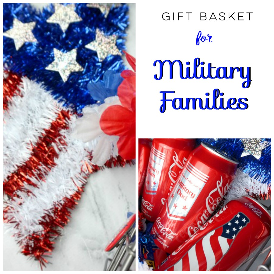 gift basket for military families